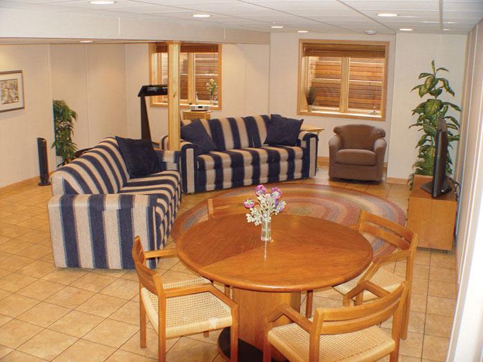 Basement Flooring Tiles ThermalDry Floor System - Thermaldry basement flooring cost