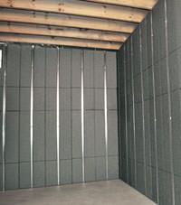 Thermal insulation panels for basement finishing in Laval, Quebec
